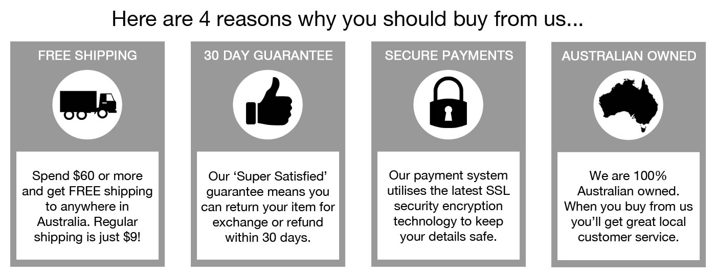 There are so many reasons why you should buy from us