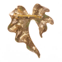 Back View of Gold Brooch