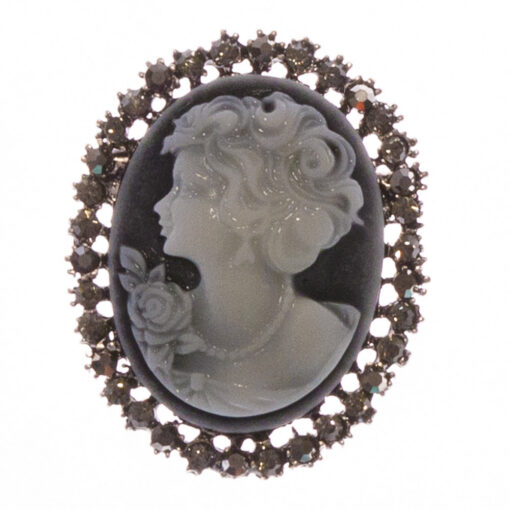 Adelaide-Silver-Cameo-Brooch-BHB97-Front