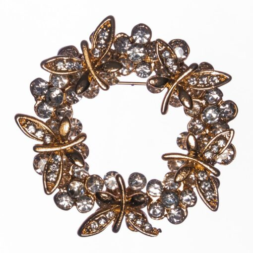 Adele-Butterfly-Wreath-Brooch-BHB62-Front