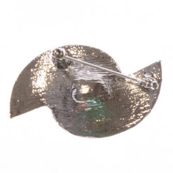 Back View of Silver Brooch