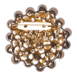 Back View of Brooch with Syone