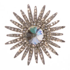 Wedding Bouquet Shape of Brooch with Beautiful Stone