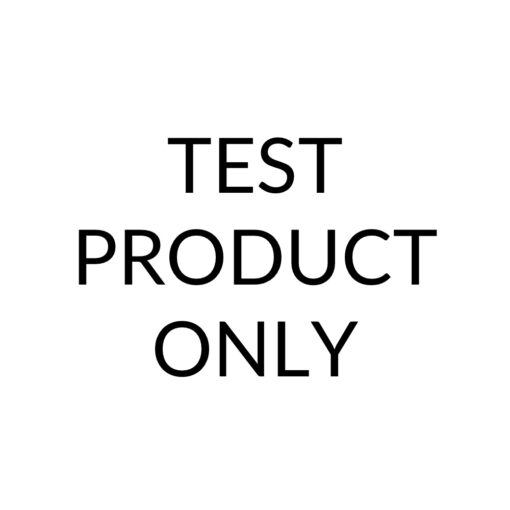 This is a test product only.