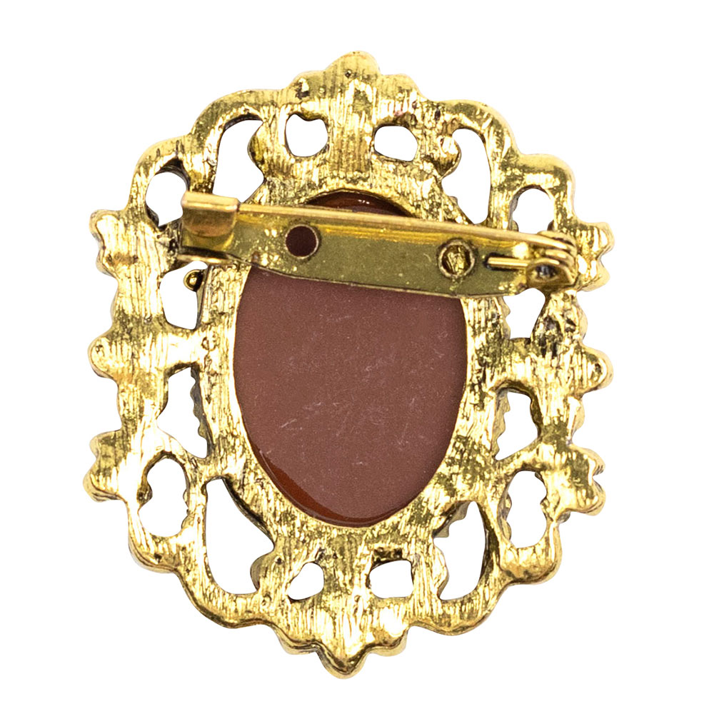 Alice Cameo Brooch