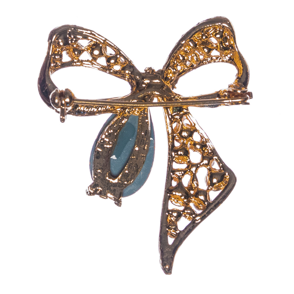 Ava Bow Brooch