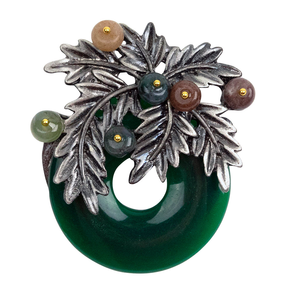 Erish Antique Tree Brooch