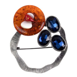 Jean Colourful Stones Brooch