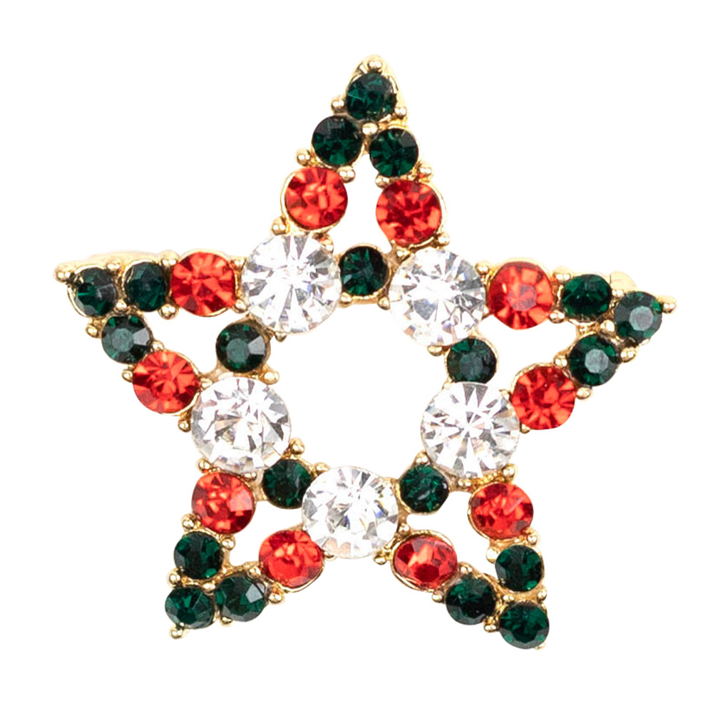 Lolita Crystal Star Brooch