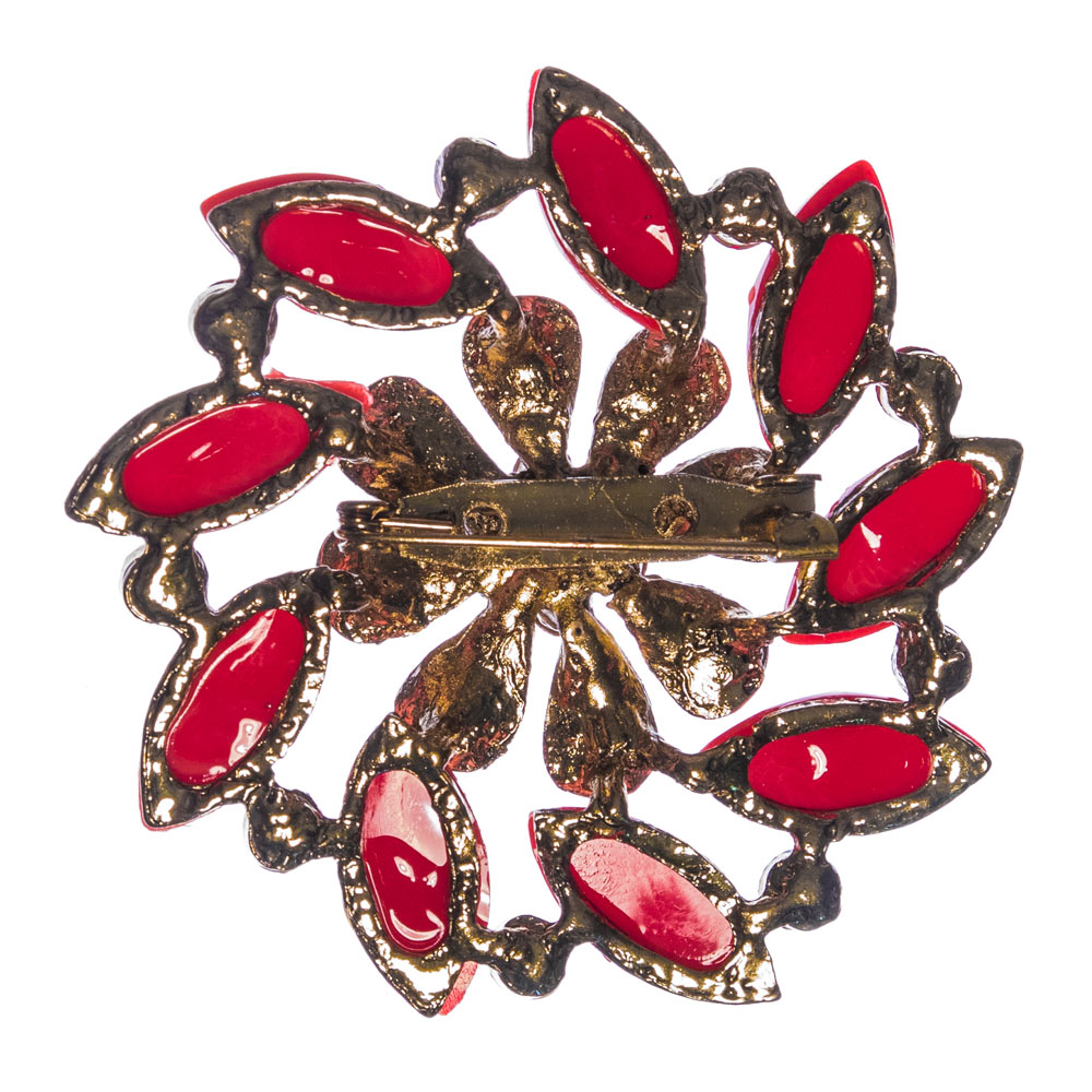 Portia Pomegranate Brooch
