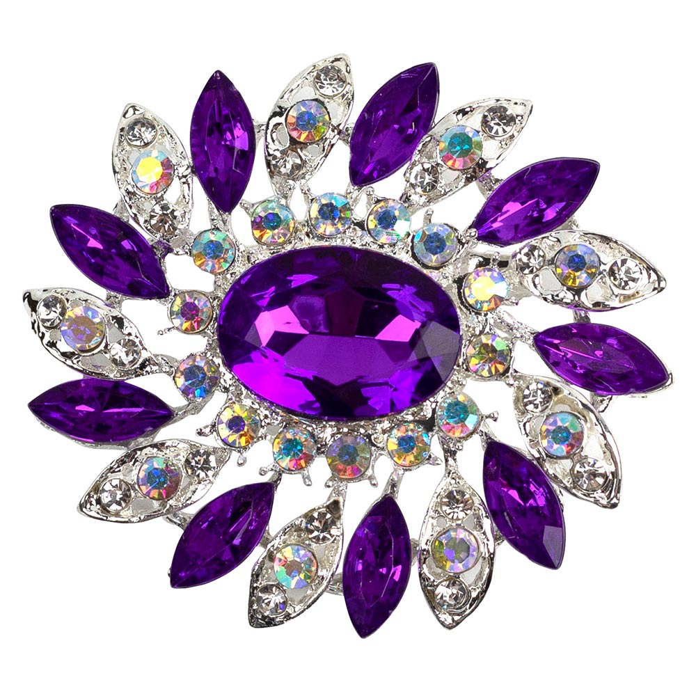 Zaylynne Purple Princess Brooch